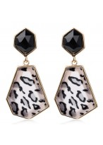 Fashionable Large Sexy Leopard Earrings